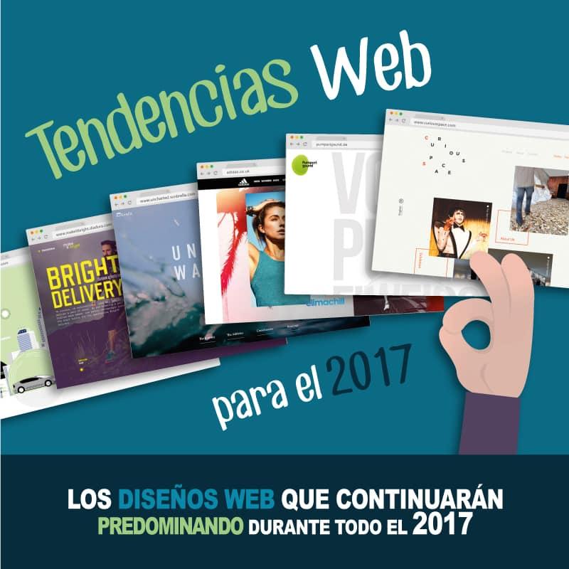 Tendencia web para el 2017