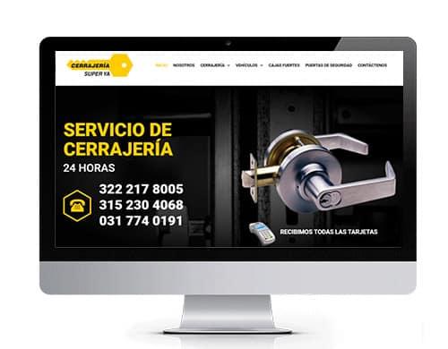 diseño-pagina-web-cerrajeria-super-portafolio Diseño de paginas web en bogotá