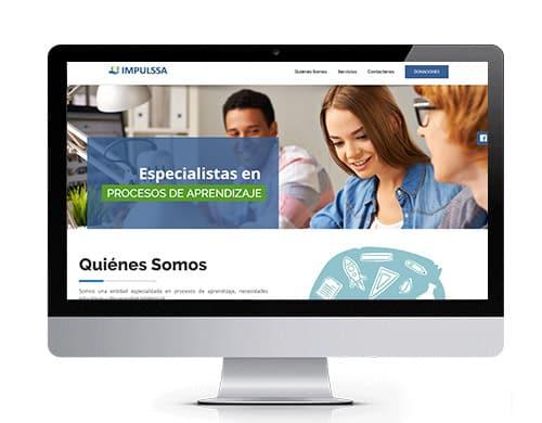 diseño-pagina-web-impulssa-portafolio Portafolio diseño de paginas web