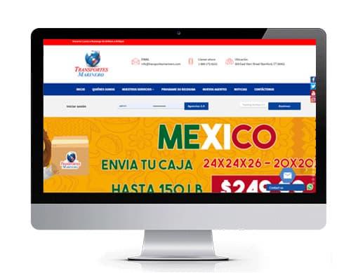 diseño-pagina-web-transportes-marinero-portafolio Portafolio diseño de paginas web